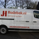 Lettertotaal autobelettering busbestickering Haverkamp groep