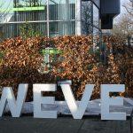 Lettertotaal Kroese Wevers op zichzelf staande letters in plaats van gevelreclame