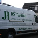 Lettertotaal Autobelettering bedrijfsbus AS Twente