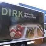 Lettertotaal Autobelettering aanhanger Dirks Noten