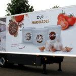 Lettertotaal autobelettering bestickering Intermezzo trailer