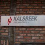Lettertotaal binnenbord Kalsbeek Assuranten bv