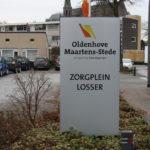 Lettertotaal Bord buiten Zorgplein Losser